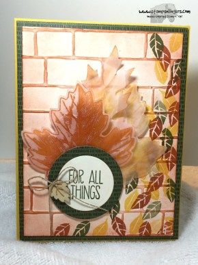 For All Things Vintage Leaves 1 - Stamps-N-Lingers