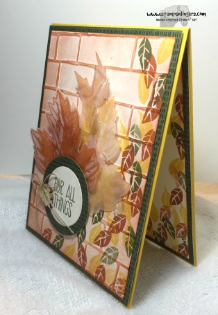 For All Things Vintage Leaves 3 - Stamps-N-Lingers
