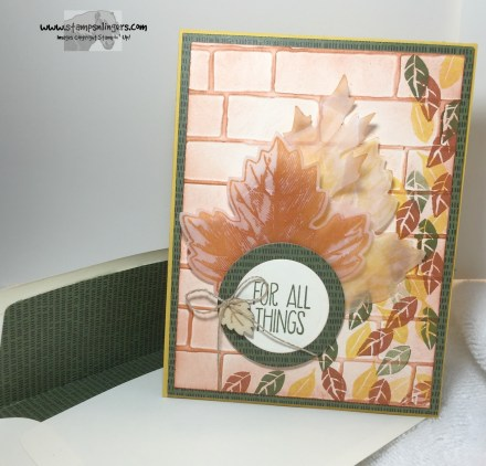 For All Things Vintage Leaves 5 - Stamps-N-Lingers