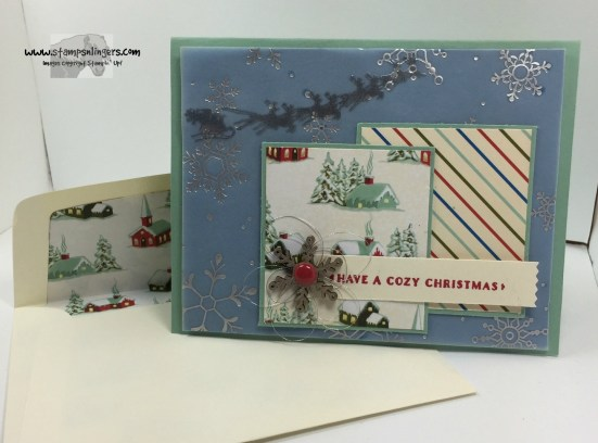 Home for Cozy Christmas 7 - Stamps-N-Lingers
