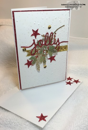 Jolly Holly Christmas 6 - Stamps-N-Lingers