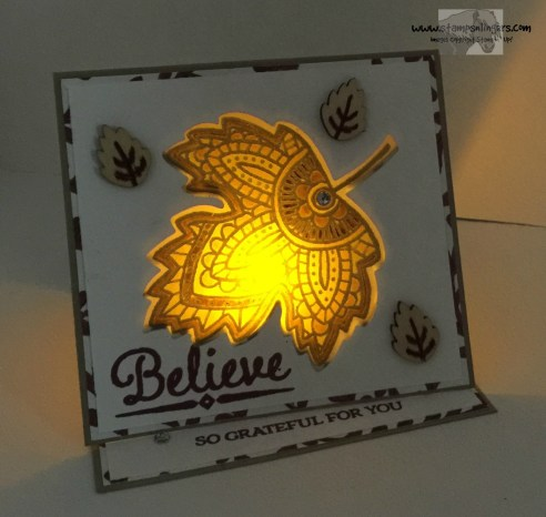 Lighthearted Leaves 6 - Stamps-N-Lingers