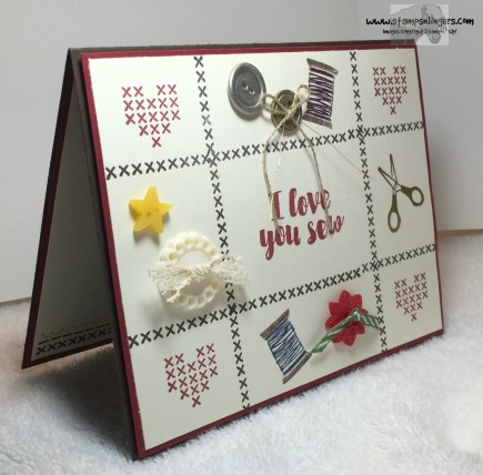 Love You Sew 1 - Stamps-N-Lingers
