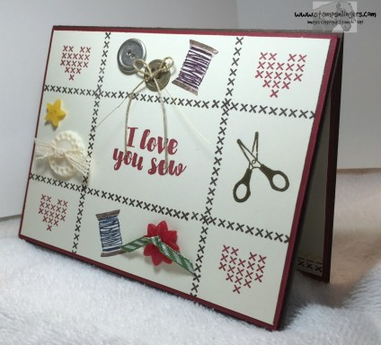 Love You Sew 2 - Stamps-N-Lingers