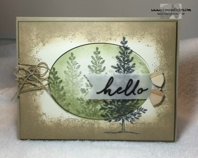 Lovely As a Tree Timeless Textures 1 - Stamps-N-Lingers