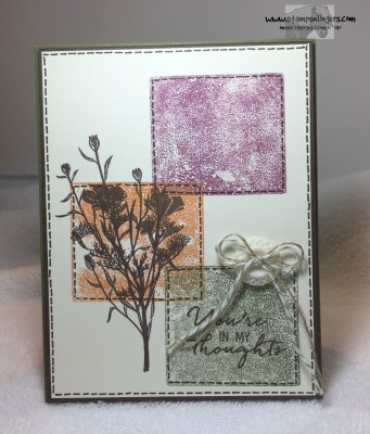 Wild About Flowers Color Blocks 1 - Stamps-N-Lingers