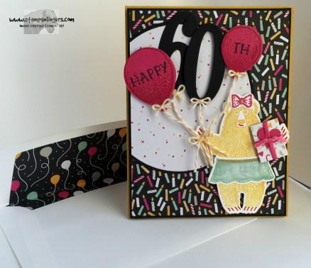 Bear Hugs Birthday Balloons 7 - Stamps-N-Lingers