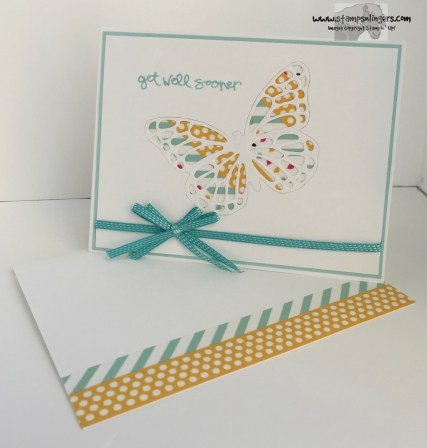 Greatest Greetings Butterfly 8 - Stamps-N-Lingers