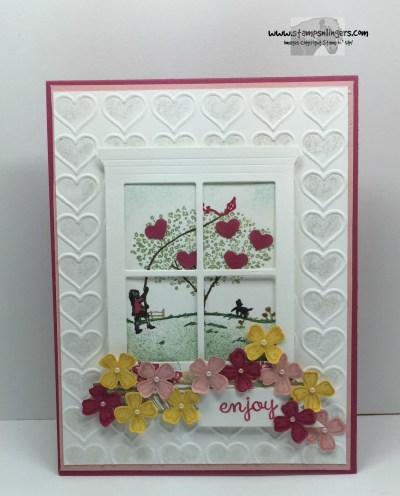 Happy Home Window 1 - Stamps-N-Lingers