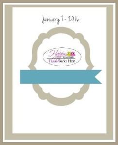 Happy Stampers Blog Hop Sketch for 7 Jan 16