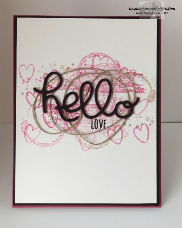 Hello Love 1 - Stamps-N-Lingers