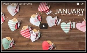 January Paper Pumpkin video
