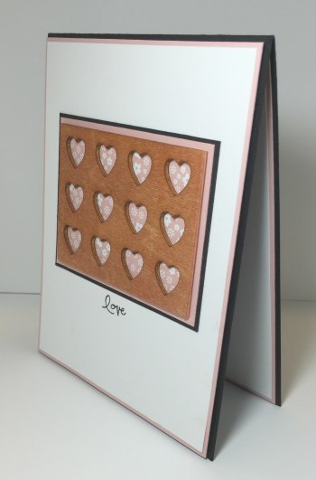 Love Blossoms Wooden Hearts 2 - Stamps-N-Lingers
