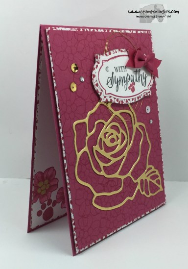 Rose Wonder Sympathy 2 - Stamps-N-Lingers
