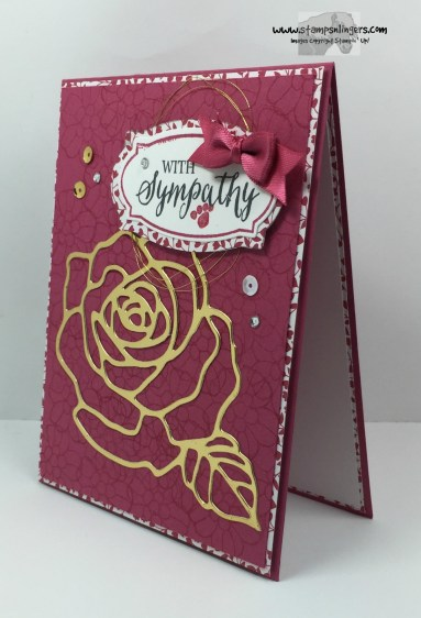 Rose Wonder Sympathy 3 - Stamps-N-Lingers