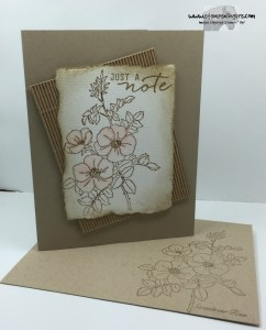 Sweetbriar Rose Just a Note 6 - Stamps-N-Lingers