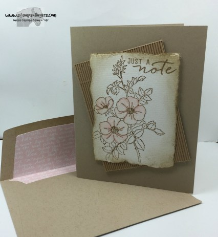 Sweetbriar Rose Just a Note 7 - Stamps-N-Lingers