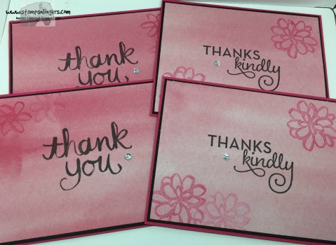 Thank You Cards 1 - Stamps-N-Lingers