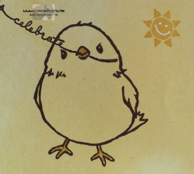 Hello Little Sunshine 2 - Stamps-N-Lingers