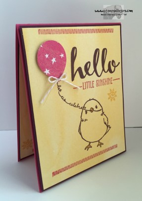 Hello Little Sunshine 4 - Stamps-N-Lingers