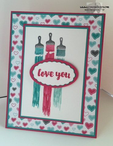 Love You Sew Let's Paint the Town 1 - Stamps-N-Lingers