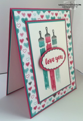 Love You Sew Let's Paint the Town 3 - Stamps-N-Lingers