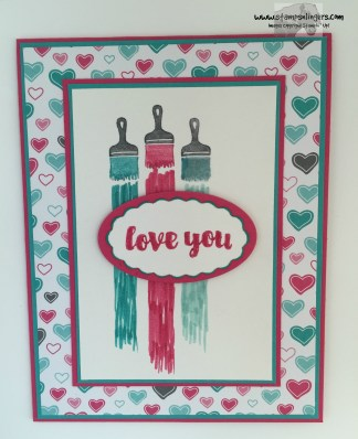 Love You Sew Let's Paint the Town 4 - Stamps-N-Lingers