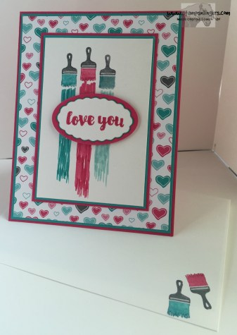 Love You Sew Let's Paint the Town 6 - Stamps-N-Lingers