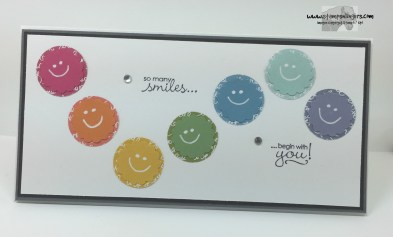 Petite Pairs Smiley Thanks 1 - Stamps-N-Lingers