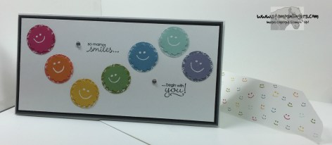 Petite Pairs Smiley Thanks 6 - Stamps-N-Lingers