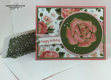 Rose Garden Happy Birthday 8 - Stamps-N-Lingers