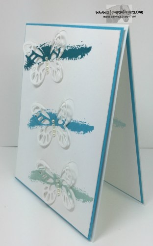 Blue Bold Butterflies 3 - Stamps-N-Lingers