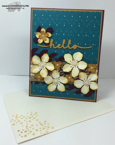 Botanical Builder Hello 7 - Stamps-N-Lingers