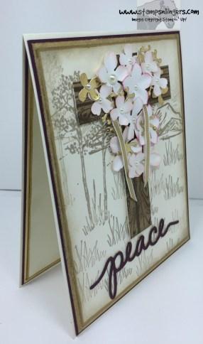 Botanical Easter Cross 3 - Stamps-N-Lingers