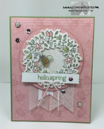 Circle of Spring Garden 1 - Stamps-N-Lingers
