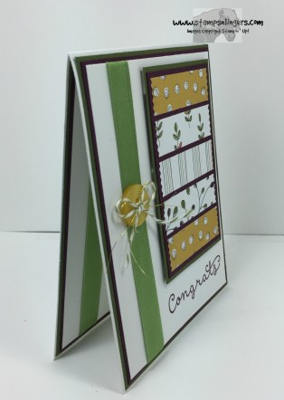 Cottage Greetings Congrats 2 - Stamps-N-Lingers