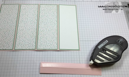 Four Panel Fun Fold 8 - Stamps-N-Lingers