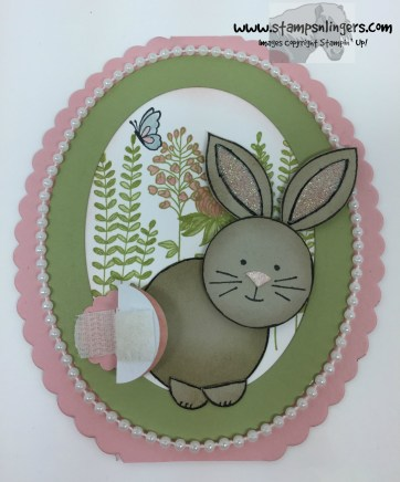 Friends & Flowers Easter Bunny 13 - Stamps-N-Lingers