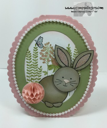 Friends & Flowers Easter Bunny 6 - Stamps-N-Lingers