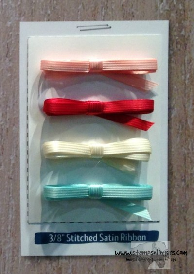 38 Stitched Satin Ribbon - Stamps-N-Lingers