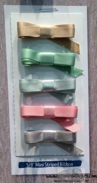 58 Mini Striped Ribbon - Stamps-N-Lingers