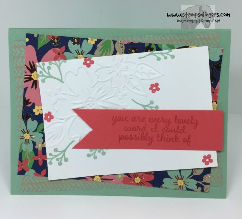 Affectionately Yours Make and Take - Stamps-N-Lingers