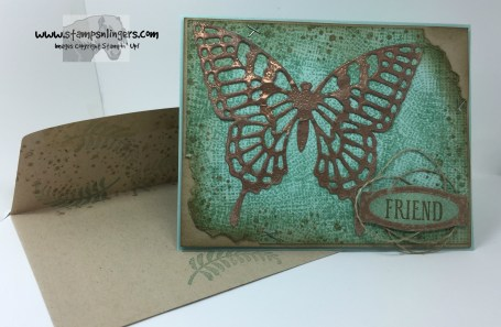 Awesomely Artistic Copper Butterfly 9 - Stamps-N-Lingers