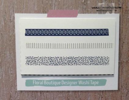 Floral Boutique Designer Washi - Stamps-N-Lingers