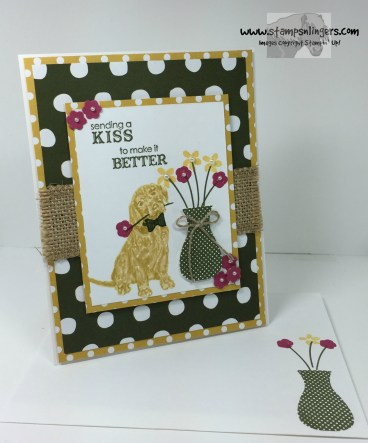 Floral Wings Petite Pairs Get Well 6 - Stamps-N-Lingers