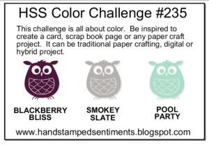 HSS Color Challenge 235 sketch