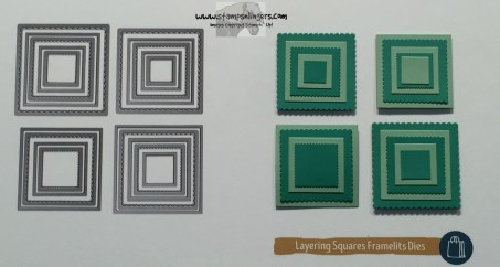 Layering Squares - Stamps-N-Lingers