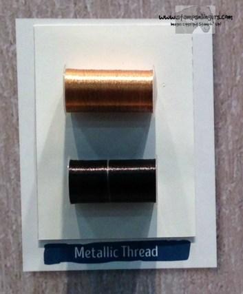 Metallic Thread - Stamps-N-Lingers