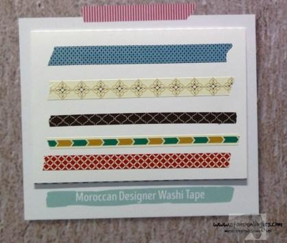 Moroccan Designer Washi - Stamps-N-Lingers
