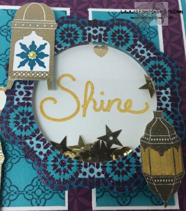 Moroccan Nights Shaker Congrats 4 - Stamps-N-Lingers
